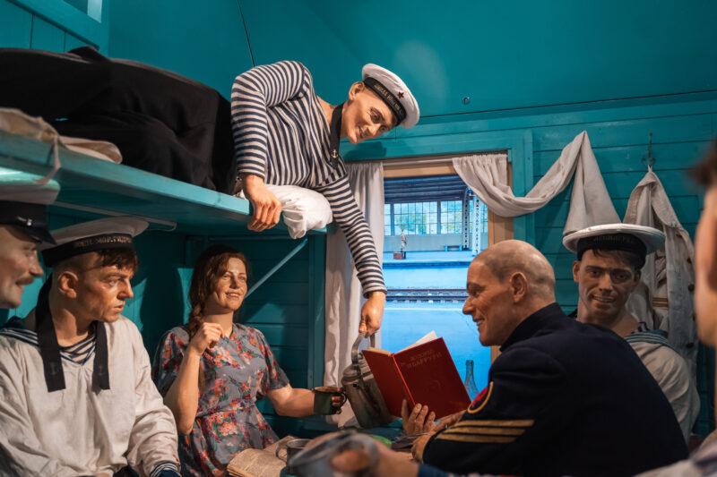 В Тверь прибыл уникальный передвижной музей «Поезд Победы»