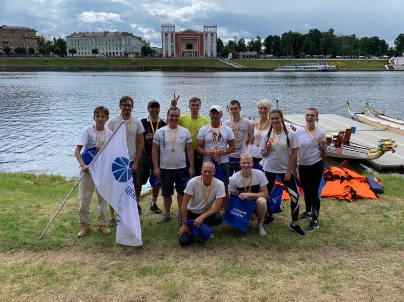 Команда «Тверьэнерго» стала чемпионом в соревнованиях по гребле