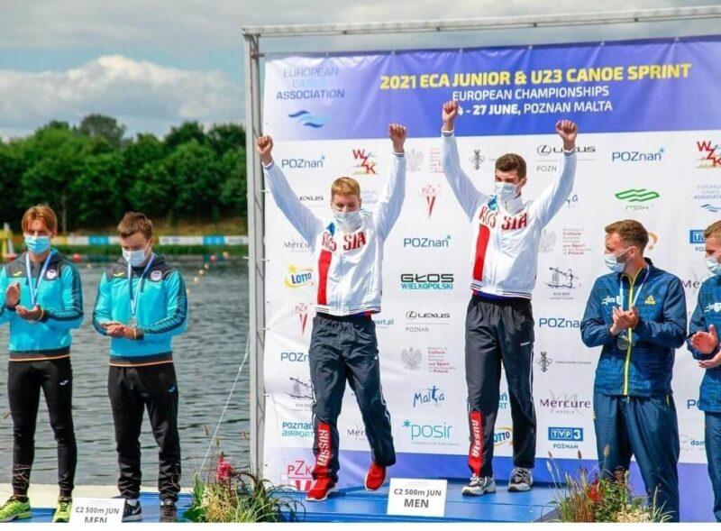 Двукратным победителем Первенства Европы по гребле стал спортсмен из Конаково