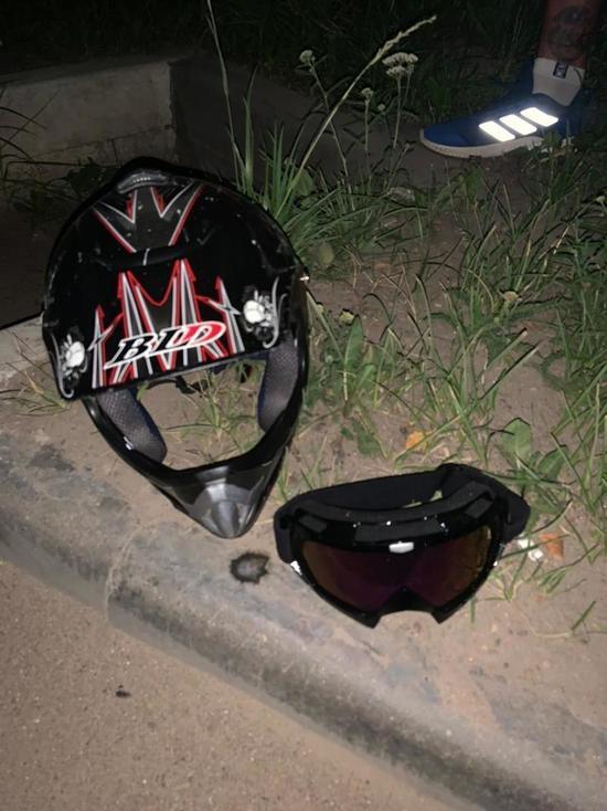 В Тверской области столкнулись мотоцикл и легковушка