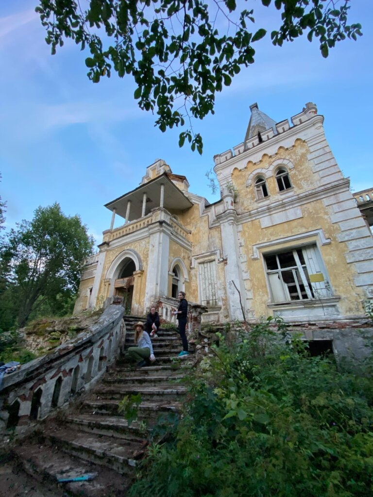 История одного здания: как «перезагружают» дом Владимира Гаслера в Тверской области