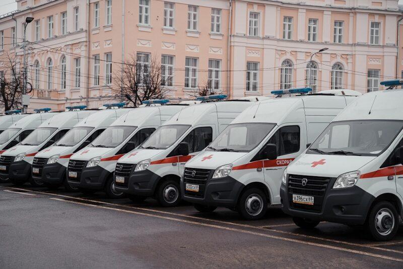Автопарк Тверской области пополнится новыми школьными автобусами и машинами скорой помощи