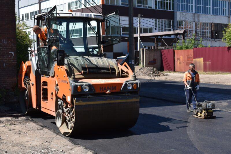 В Твери продолжается ремонт дорог