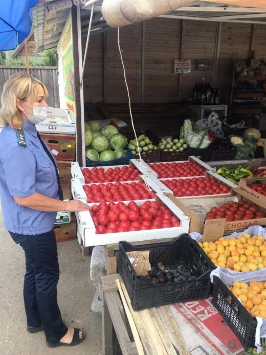 Россельхознадзор провел проверку на рынке в Торжке