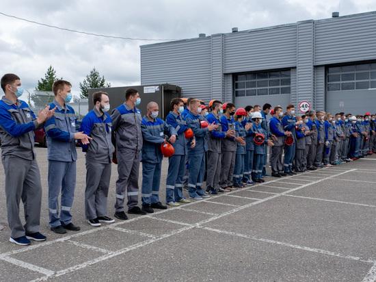 На Калининской АЭС прошли соревнования огнеборцев