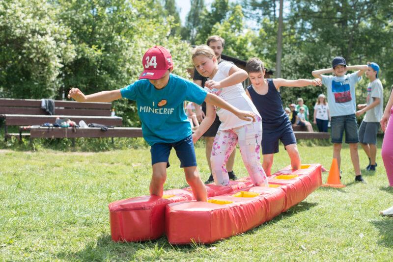 В одном из сел Тверской области для детей провели спортивное мероприятие
