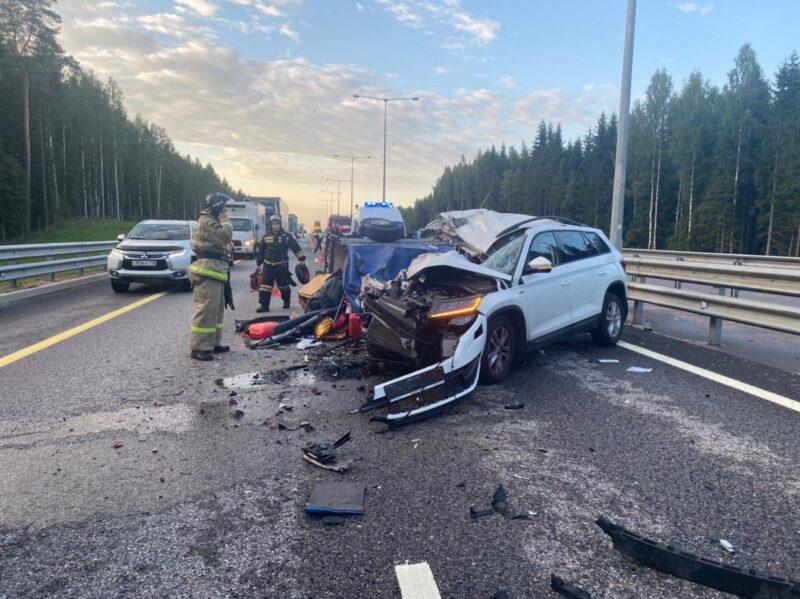 На трассе М-11 в Тверской области произошло смертельное ДТП