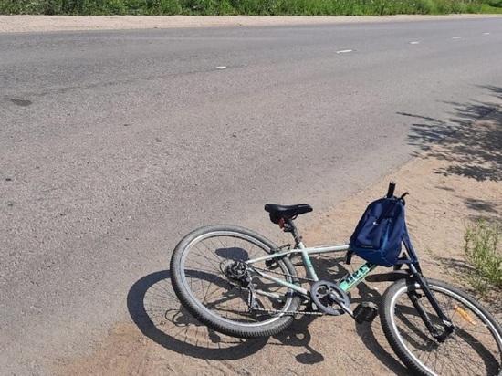 В Тверской области под колеса автомобиля попал подросток-велосипедист