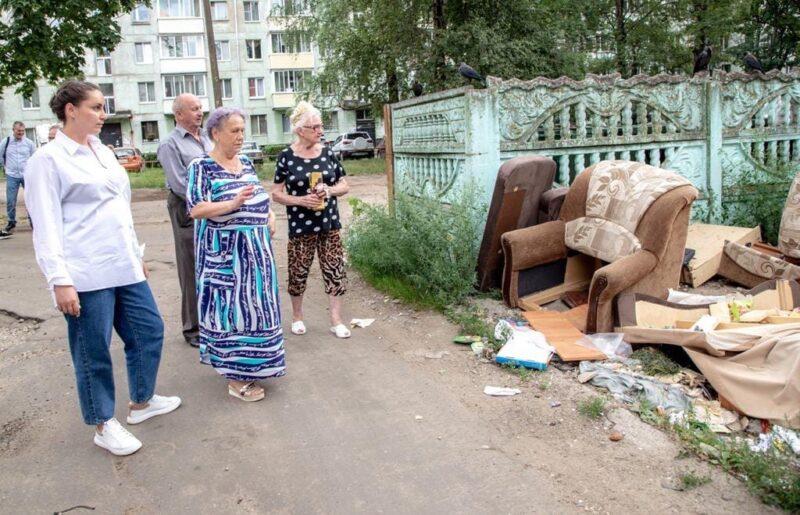 Всего один звонок: Юлия Саранова помогла конаковцам ликвидировать несанкционированные свалки