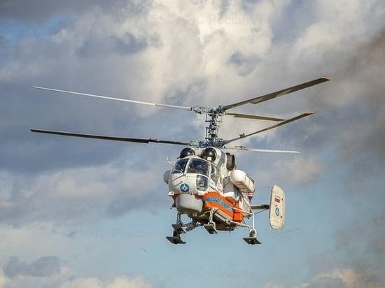 Пациента из Бежецкой больницы срочно доставили вертолетом в Тверь