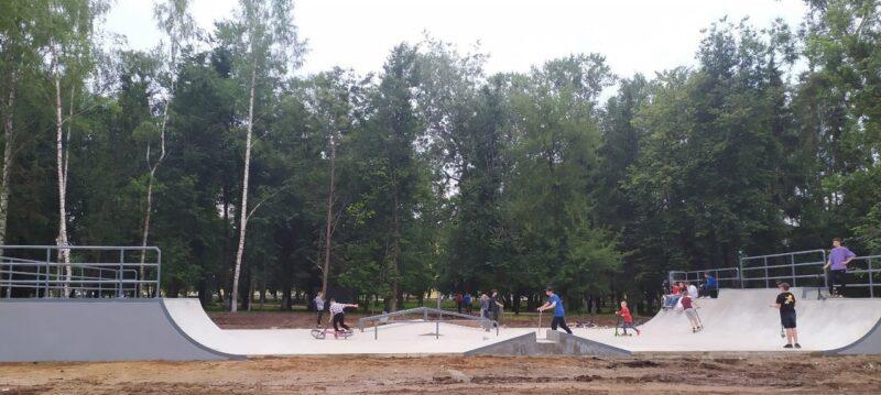 В Ржеве продолжается благоустройство скейт-парка