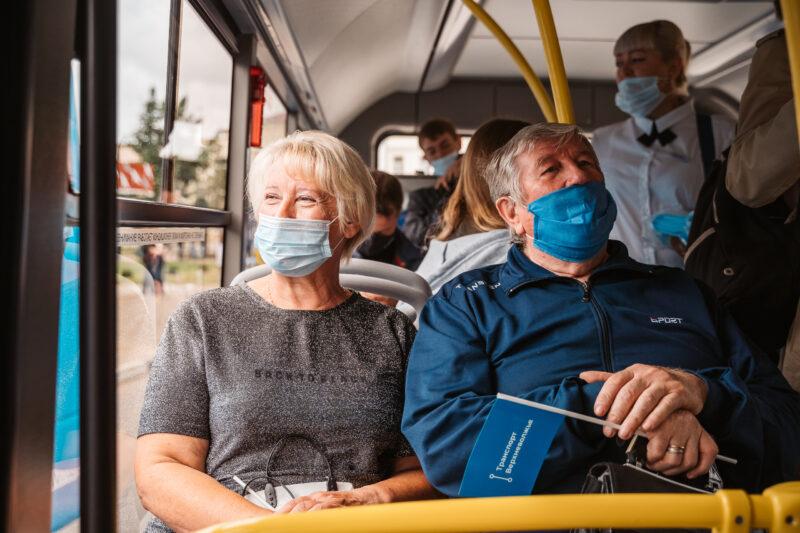 Около 155 тысяч пассажиров перевезено новыми автобусами общественного транспорта в Ржевской, Старицкой, Кимрской и Зубцовской агломерациях