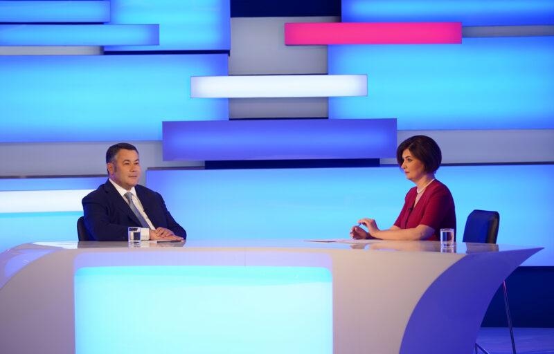 22 июля Игорь Руденя ответит на вопросы жителей региона в прямом эфире