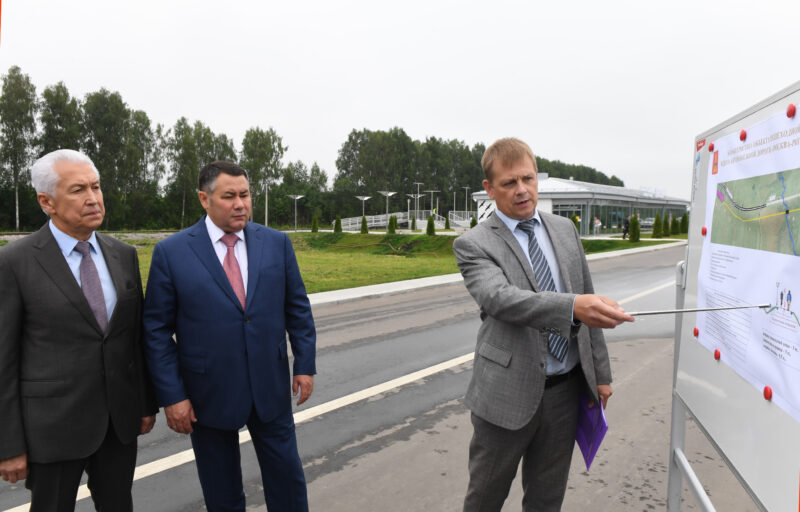 Ржевский мемориал Советскому солдату и железнодорожный вокзал «Ржевский мемориал» соединит пешеходная дорожка