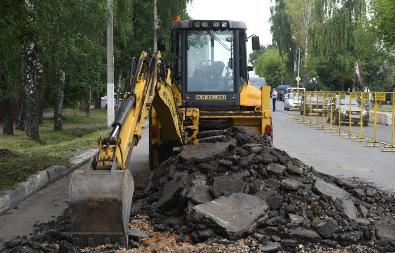 Игорь Руденя проинспектировал ремонт дорог в Твери