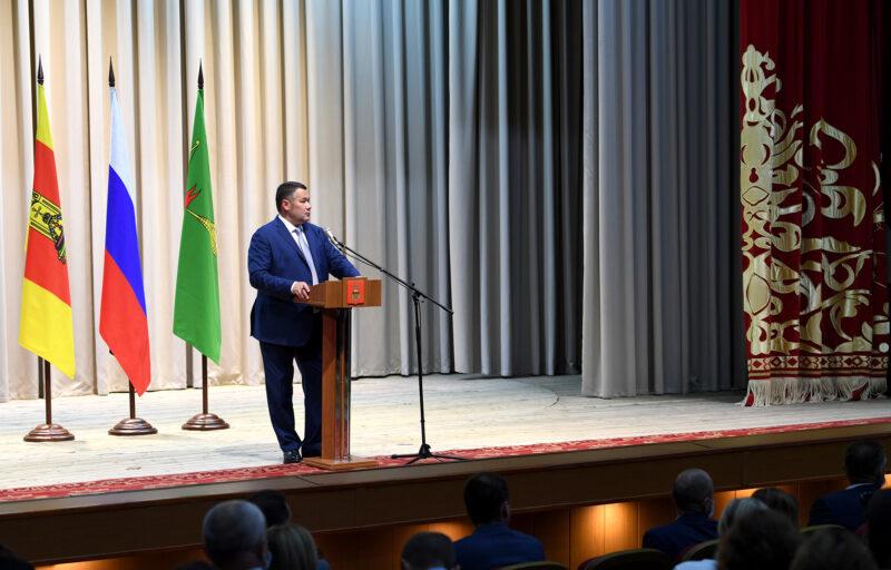 Игорь Руденя обсудил с общественностью Торопецкого района вопросы развития муниципалитета