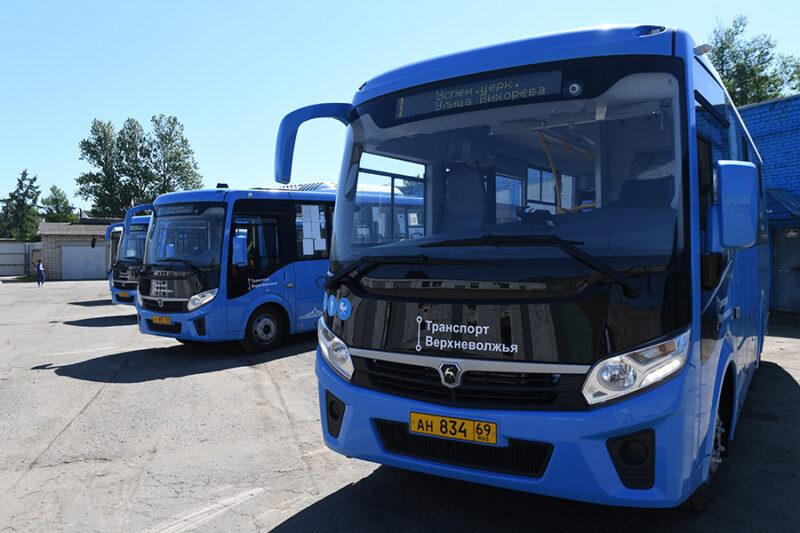 В Ржеве и Зубцове изменились маршруты общественного транспорта
