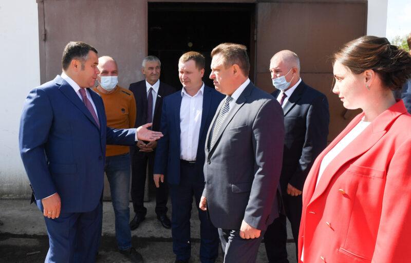Губернатор поручил газифицировать поселок Ривицкий в Максатихинском районе