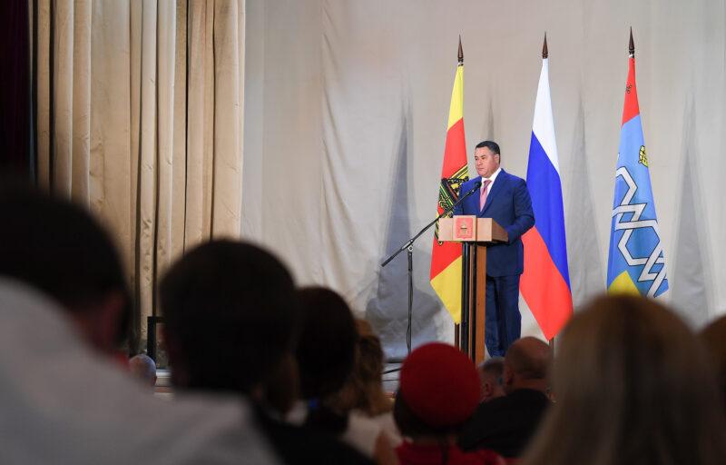 Игорь Руденя обсудил важные темы с жителями Максатихинского района