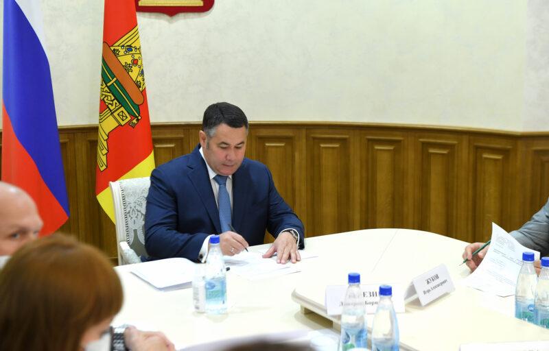 Игорь Руденя поручил усилить востребованные у жителей Тверской области пункты вакцинации