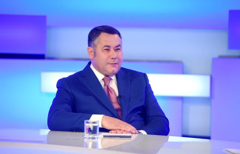Игорь Руденя вошел в число губернаторов-лидеров по коммуникациям с обществом