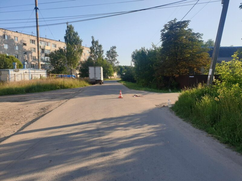 В Тверской области сбили пенсионерку на велосипеде