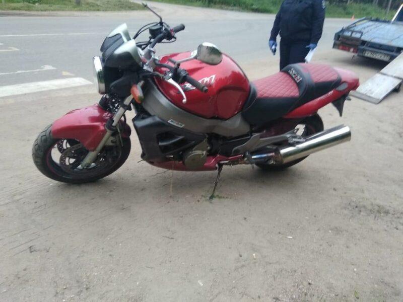 В Тверской области в ДТП пострадал 16-летний мотоциклист