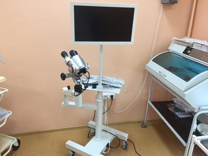 Оптический кольпоскоп появился в одной из больниц Тверской области