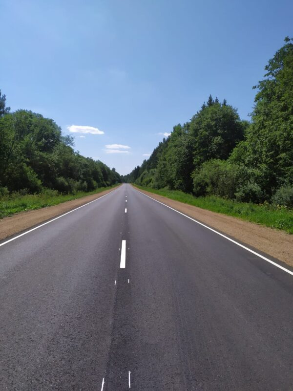 В Тверской области готова к эксплуатации после ремонта автодорога Осташков – Селижарово – Ржев