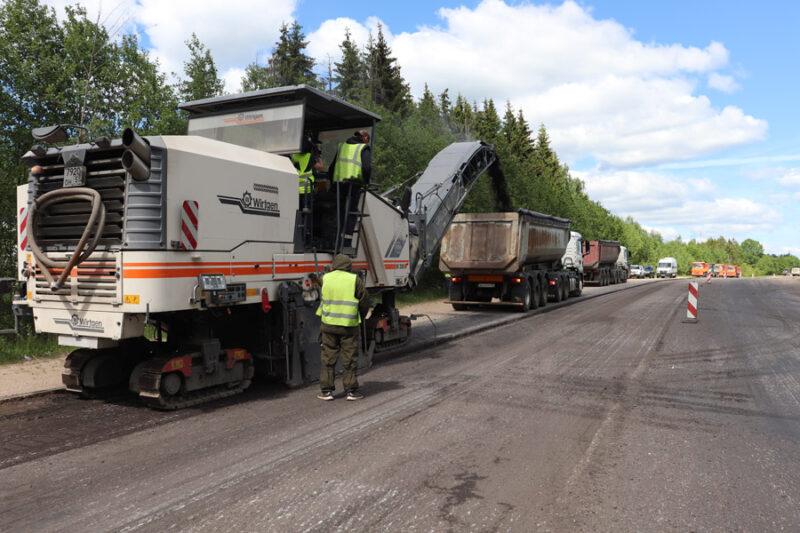 В Тверской области продолжается ремонт дорог