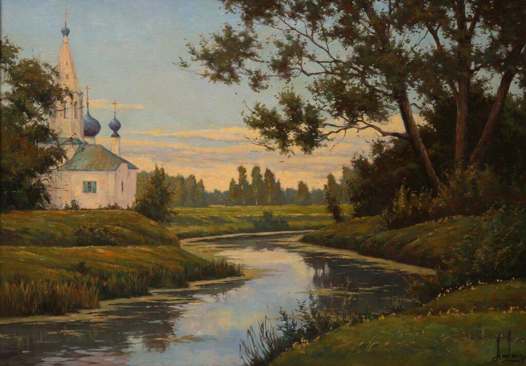 Жителей Твери приглашают на выставку живописи о русской провинции