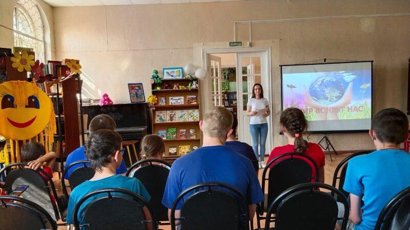 В Ржевской библиотеке провели научную встречу для детей с ограниченными возможностями