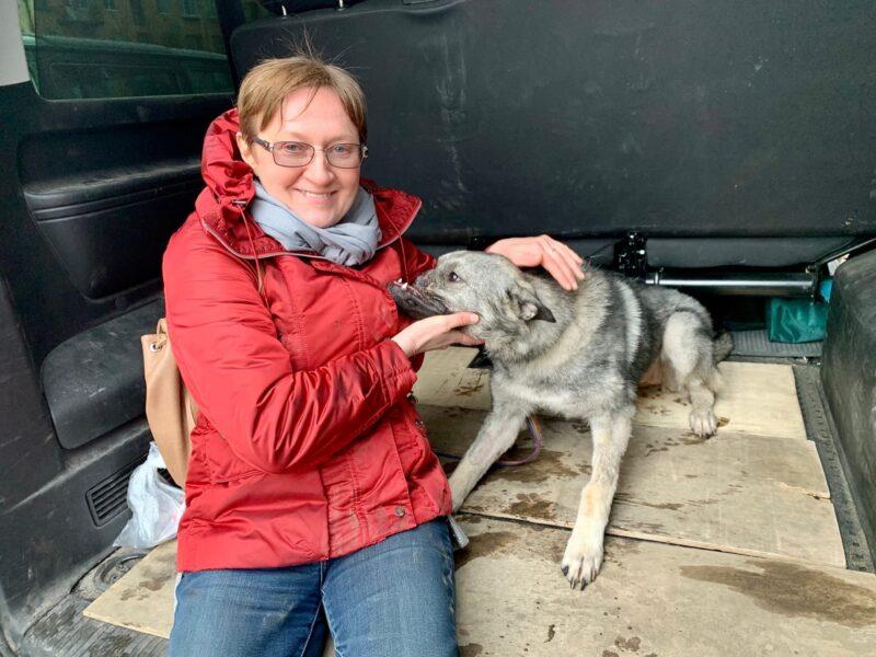 «Особенная» собака из Твери нашла любящую семью