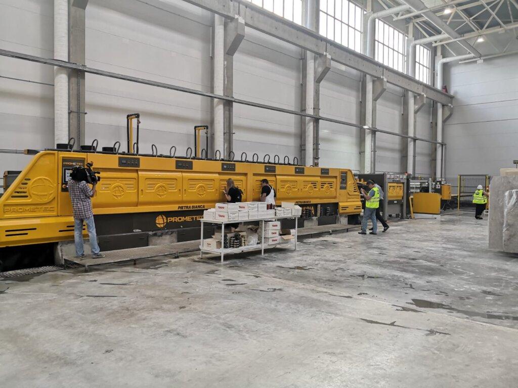 В Тверской области запущен новый камнеобрабатывающий завод