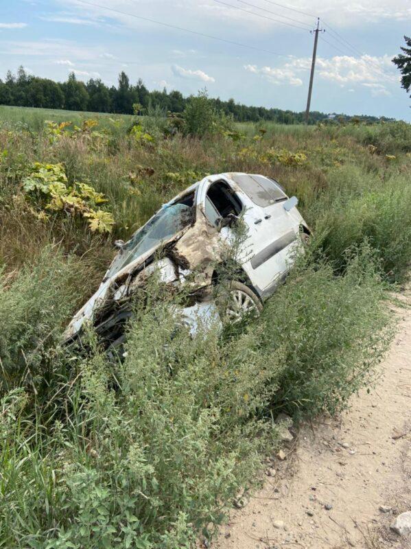 В Тверской области нетрезвый водитель оказался сначала в кювете, а потом в больнице