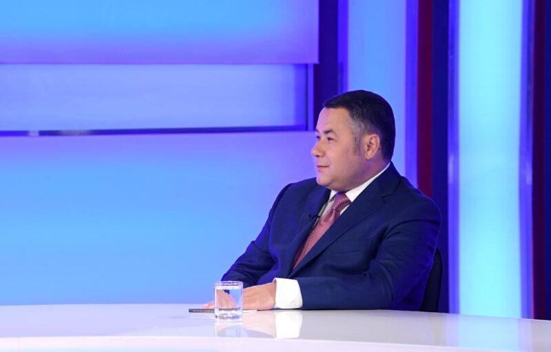 Игорь Руденя: наши тверские дети – это очень перспективная молодёжь