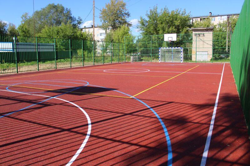 В Лихославлье появится площадка для игры в большой теннис