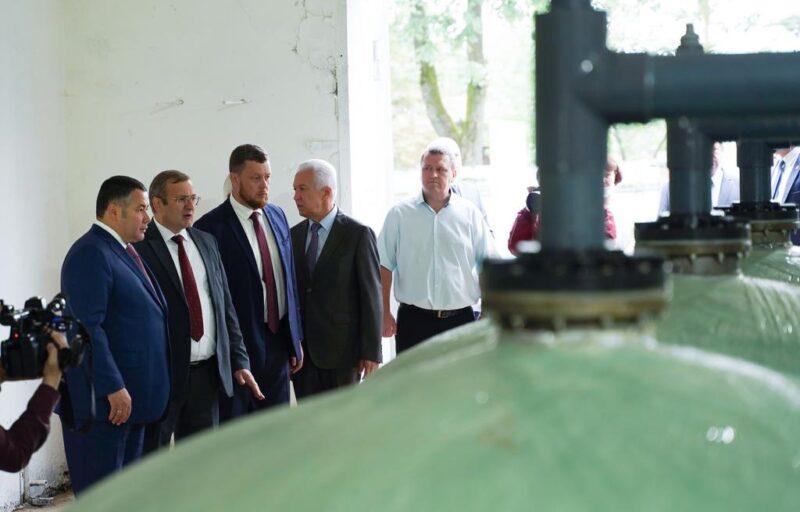 В Ржеве продолжается модернизация водозабора