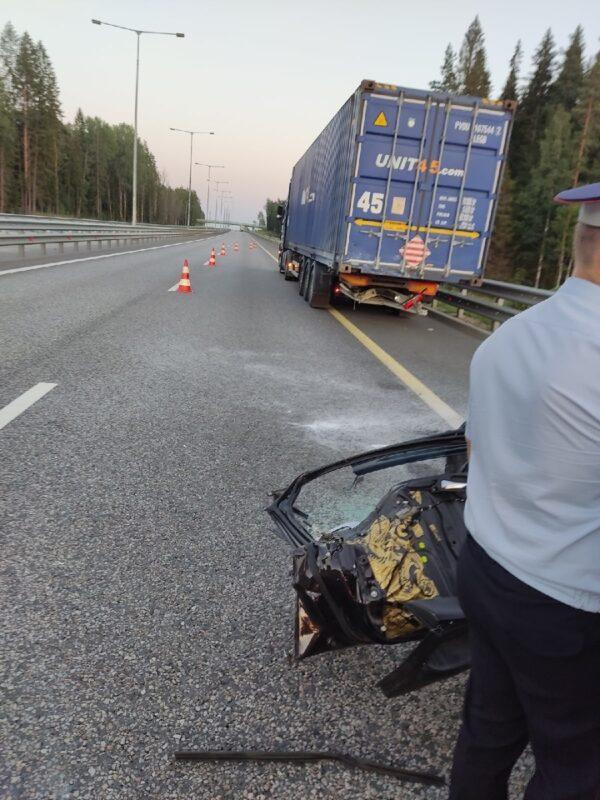 В Тверской области на М-11 произошло смертельное ДТП