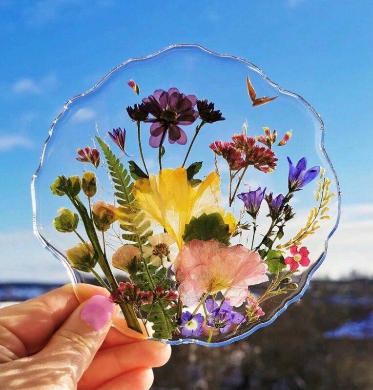 """В Твери пройдет мастер-класс по эпоксидной смоле """"Flowers & Coasters"""""""