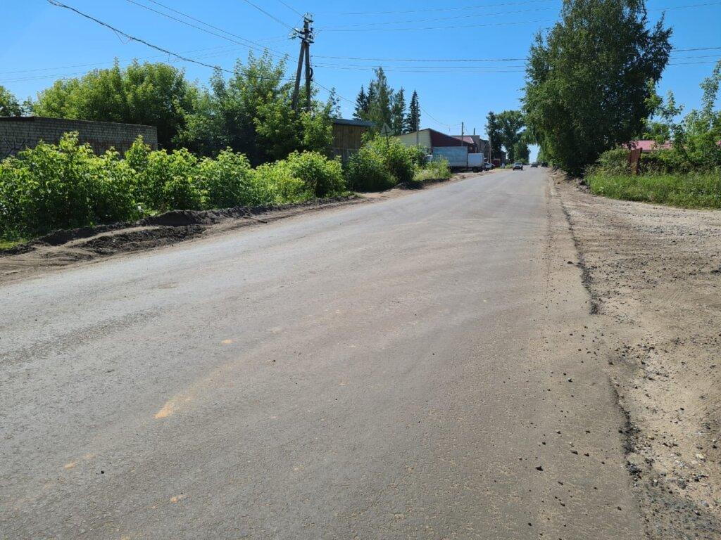В Калязинском районе ведутся дорожные работы