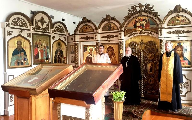 Святыни Большого Бежецкого Крестного прибыли в Лихославльский район