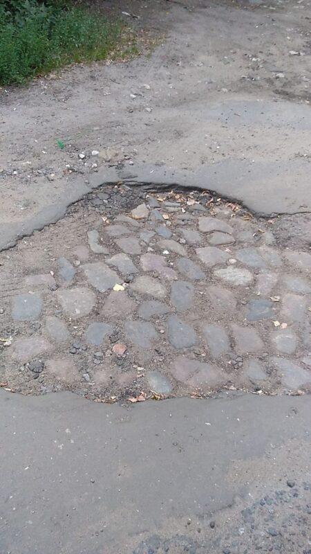 В Твери под асфальтом нашли старинную мостовую