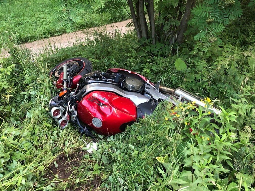Авария с мотоциклом унесла жизнь пешехода в Торжке