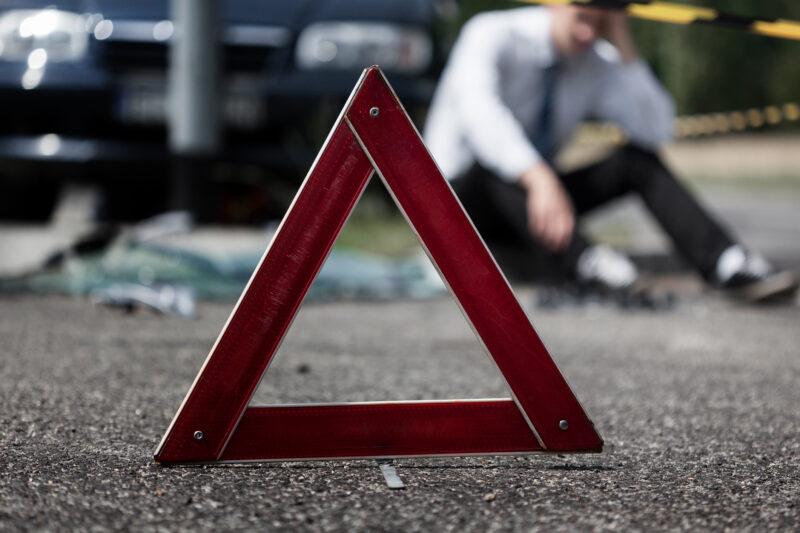 В Тверской области нетрезвый водитель попал в аварию и сломал челюсть