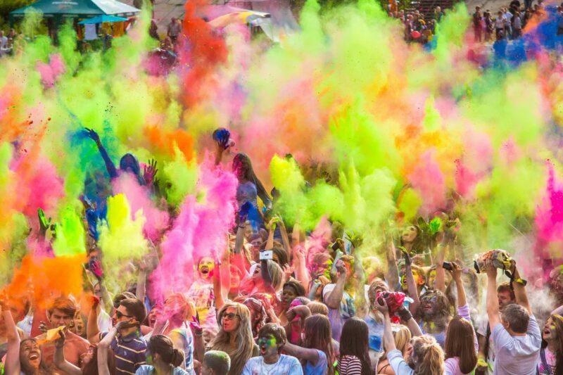 В Тверском парке Победы вновь состоится фестиваль красок