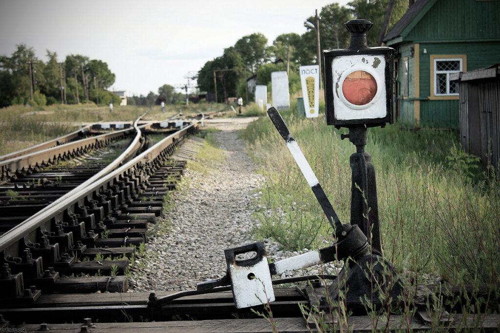 В Тверской области американский дипломат украл железнодорожную стрелку