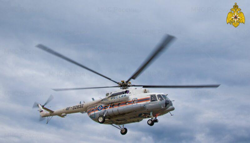 Вертолет санавиации доставил в Тверь ребенка в тяжелом состоянии