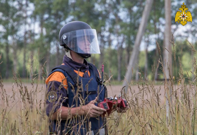 В Тверской области разминируют боеприпасы времен Великой Отечественной войны