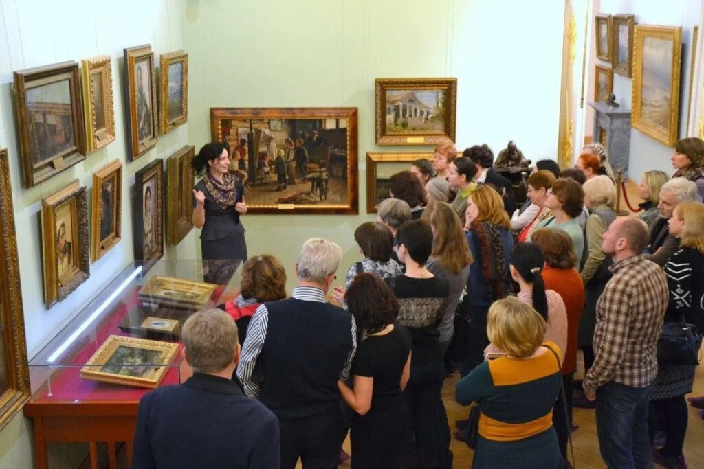 Тверской Императорский путевой дворец приглашает всех посетить экскурсию по залам